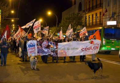 "Masivo ""Banderazo"" por Guillier en Valparaíso"