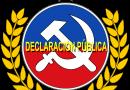 Si la derecha necesita mentir al país para referirse al Partido Comunista, entonces vamos por ancho camino.