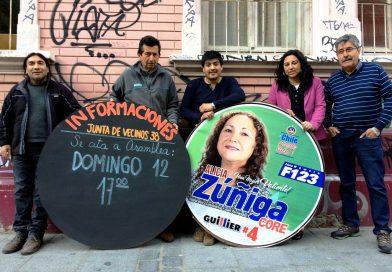 Candidata Comunista a Core por Valparaiso  se compromete con la organización comunitaria