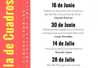 CONVOCATORIA: Escuela de Cuadros de Invierno 2018
