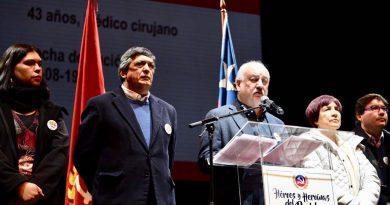 Conozca discurso central de Guillermo Teillier en acto aniversario: Apoyo a lucha feminista, oposición firme y unitaria, compromiso irrenunciable a demandas de DD.HH.